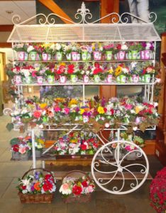 POF Garden Cart with 300 bouquets